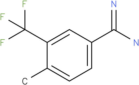 3-(trifluoromethyl)-4-methylbenzamidine