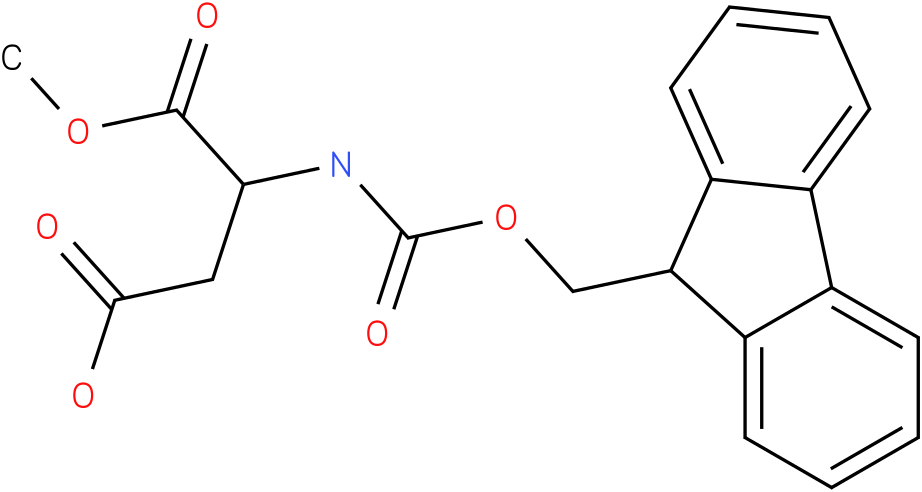 Fmoc-L-aspartic acid alpha-methyl ester