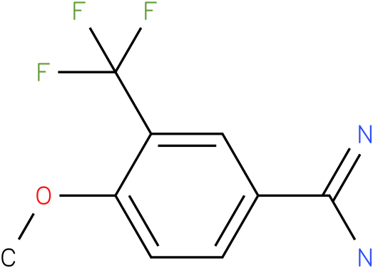 3-(trifluoromethyl)-4-methoxybenzamidine