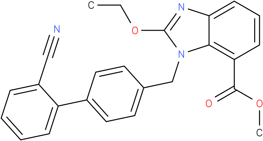 Methyl 1-[(2'-cyanobiphenyl-4-yl)methyl]-2-ethoxy-1H-benzimidazole-7-carboxylate