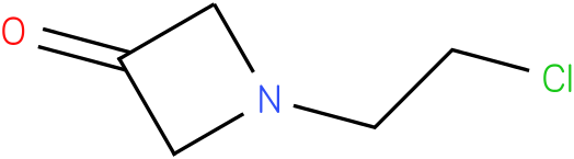1-(2-chloroethyl)azetidin-3-one