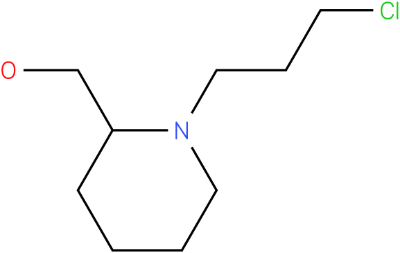 (1-(3-chloropropyl)piperidin-2-yl)methanol