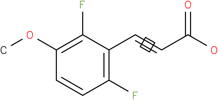 (E)-3-(2,6-difluoro-3-methoxyphenyl)acrylic acid