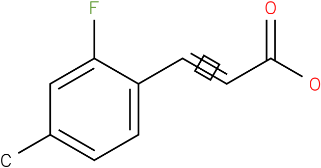 (E)-3-(2-fluoro-4-methylphenyl)acrylic acid