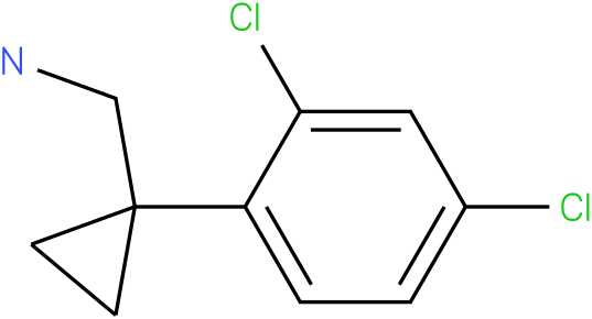(1-(2,4-dichlorophenyl)cyclopropyl)methanamine