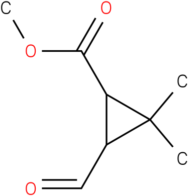Methyl 3-formyl-2,2-dimethylcyclopropanecarboxylate