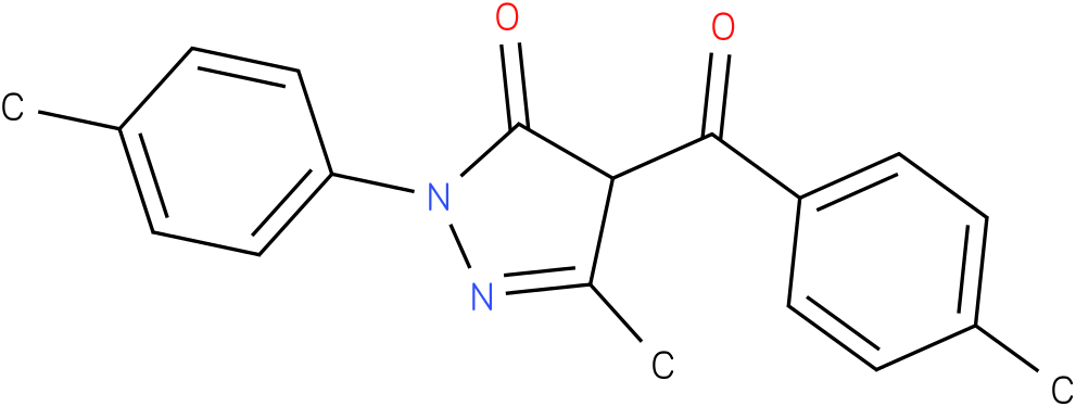 3-methyl-4-(4-methylbenzoyl)-1-(p-tolyl)-1H-pyrazol-5(4H)-one