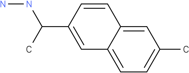1-(1-(2-methylnaphthalen-6-yl)ethyl)hydrazine