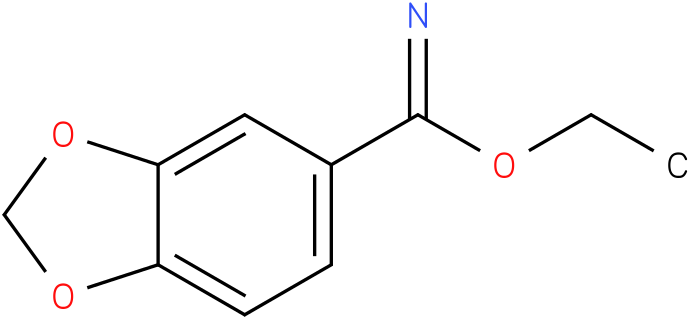 ethyl benzo[d][1,3]dioxole-5-imidate