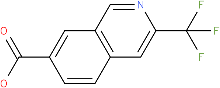 3-Trifluoromethyl-Isoquinoline-7-Carboxylic acid