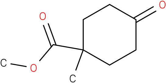methyl 1-methyl-4-oxocyclohexanecarboxylate
