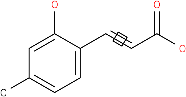 (E)-3-(2-hydroxy-4-methylphenyl)acrylic acid