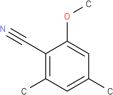 2-METHOXY-4,6-DIMETHYL BENZONITRILE