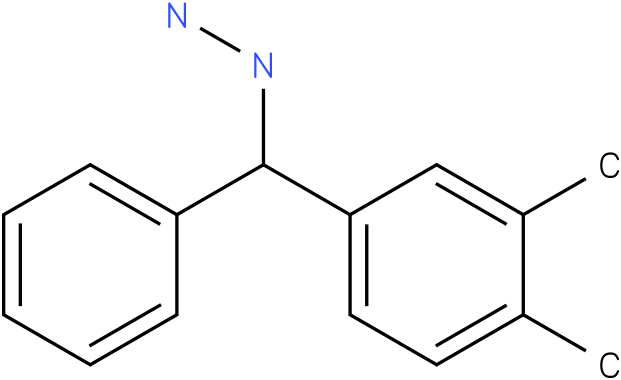 1-((3,4-dimethylphenyl)(phenyl)methyl)hydrazine