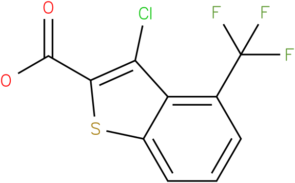 3-chloro-4-(trifluoromethyl)benzo[b]thiophene-2-carboxylic acid