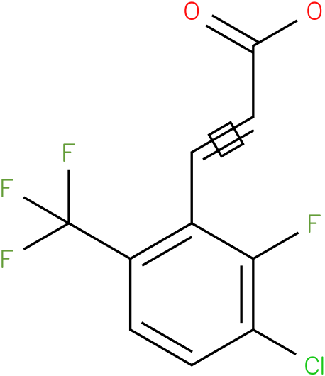 (E)-3-(3-chloro-2-fluoro-6-(trifluoromethyl)phenyl)acrylic acid