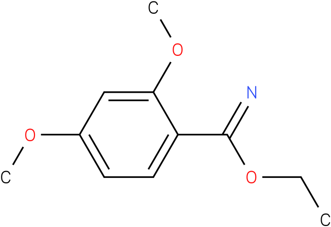 ethyl 2,4-dimethoxybenzoimidate