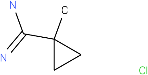 1-METHYL-CYCLOPROPANECARBOXAMIDINE HCL