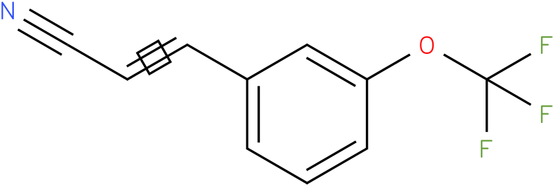 3-[3-(trifluoromethoxy)phenyl]-2-Propenenitrile