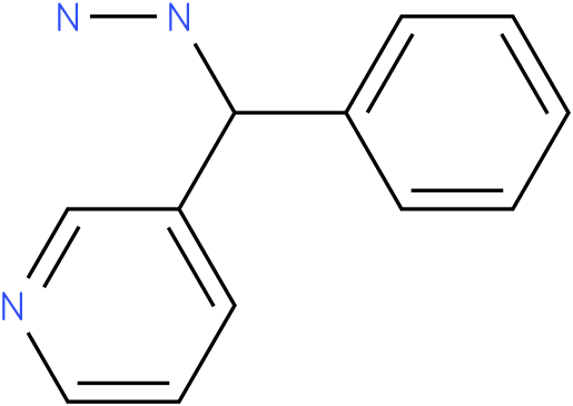 1-(phenyl(pyridin-3-yl)methyl)hydrazine