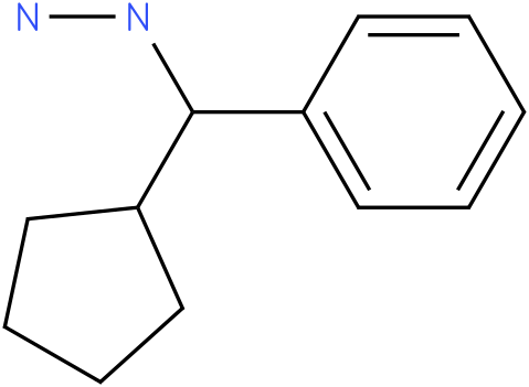 1-(cyclopentyl(phenyl)methyl)hydrazine