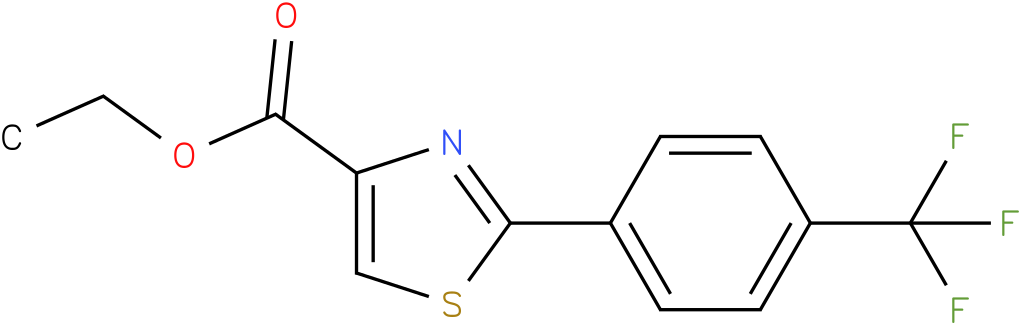 2-(4-TRIFLUOROMETHYL-PHENYL)-THIAZOLE-4-CARBOXYLIC ACID ETHYL ESTER