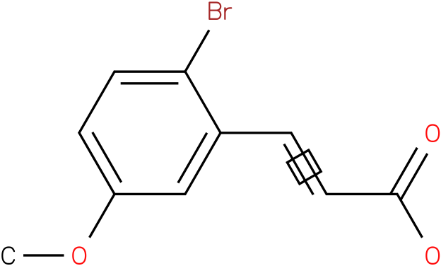 (E)-3-(2-bromo-5-methoxyphenyl)acrylic acid
