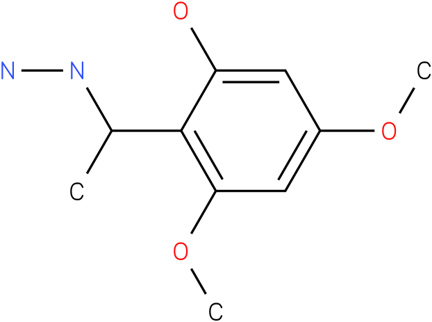 1-(1-(2-hydroxy-4,6-dimethoxyphenyl)ethyl)hydrazine