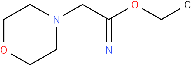 ethyl 2-morpholinoacetimidate
