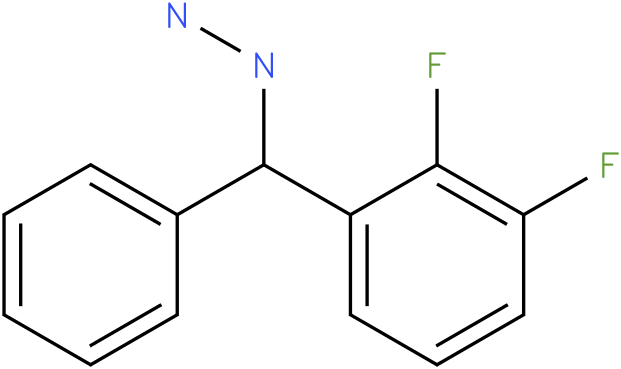 1-((2,3-difluorophenyl)(phenyl)methyl)hydrazine