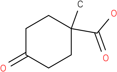1-methyl-4-oxocyclohexanecarboxylic acid