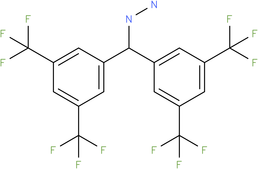 1-(bis(3,5-bis(trifluoromethyl)phenyl)methyl)hydrazine