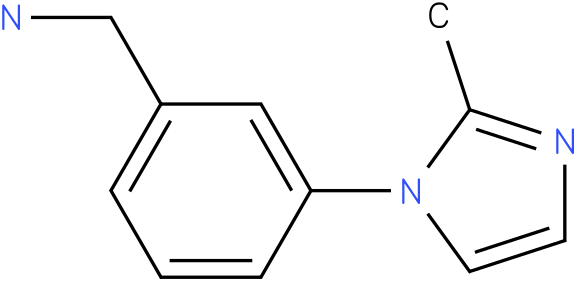 (3-(2-methyl-1H-imidazol-1-yl)phenyl)methanamine
