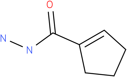 cyclopent-1-enecarbohydrazide