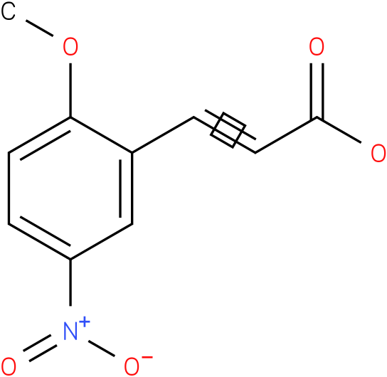 (E)-3-(2-methoxy-5-nitrophenyl)acrylic acid