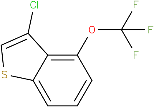 3-chloro-4-(trifluoromethoxy)benzo[b]thiophene