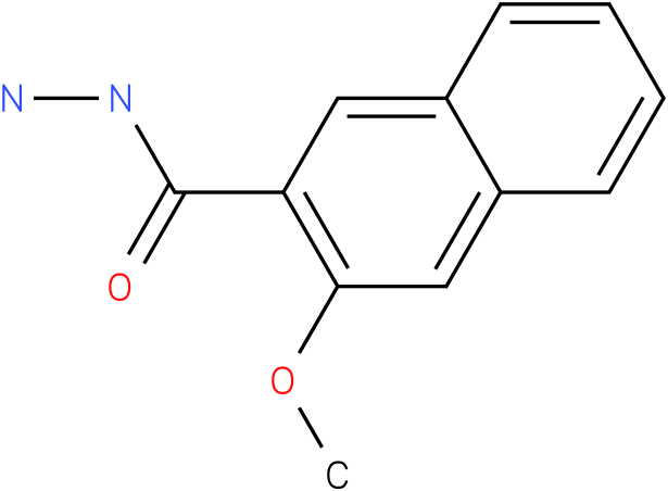 3-methoxynaphthalene-2-carbohydrazide