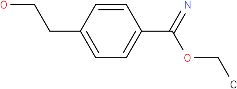 ethyl 4-(2-hydroxyethyl)benzylimidate