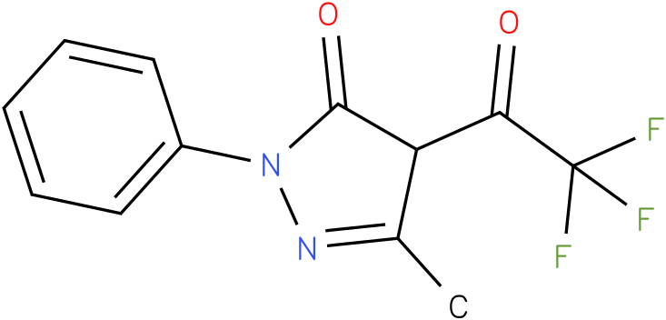 3-methyl-1-phenyl-4-(2,2,2-trifluoroacetyl)-1H-pyrazol-5(4H)-one