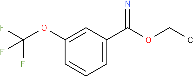 ethyl 3-(trifluoromethoxy)benzoimidate
