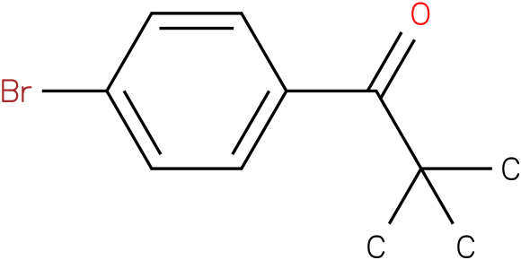 1-(4-bromophenyl)-2,2-dimethylpropan-1-one