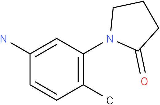 1-(5-AMINO-2-METHYLPHENYL)PYRROLIDIN-2-ONE