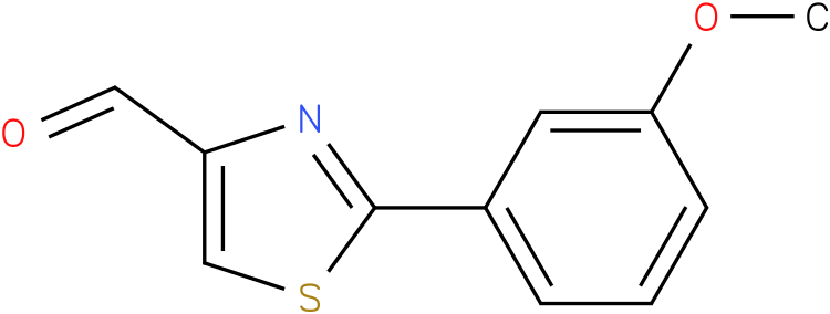 2-(3-METHOXY-PHENYL)-THIAZOLE-4-CARBALDEHYDE