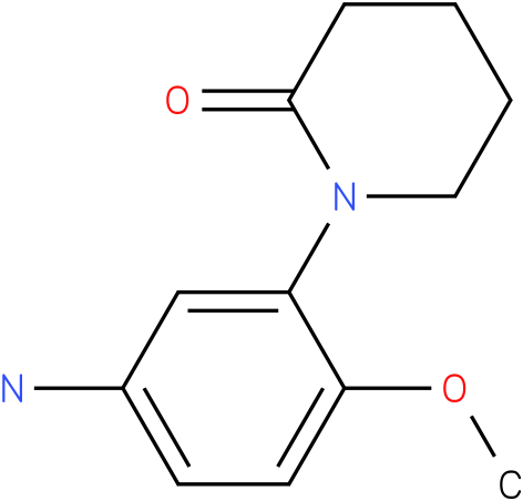 1-(5-AMINO-2-METHOXYPHENYL)PIPERIDIN-2-ONE