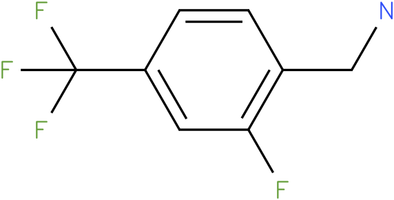 (2-fluoro-4-(trifluoromethyl)phenyl)methanamine