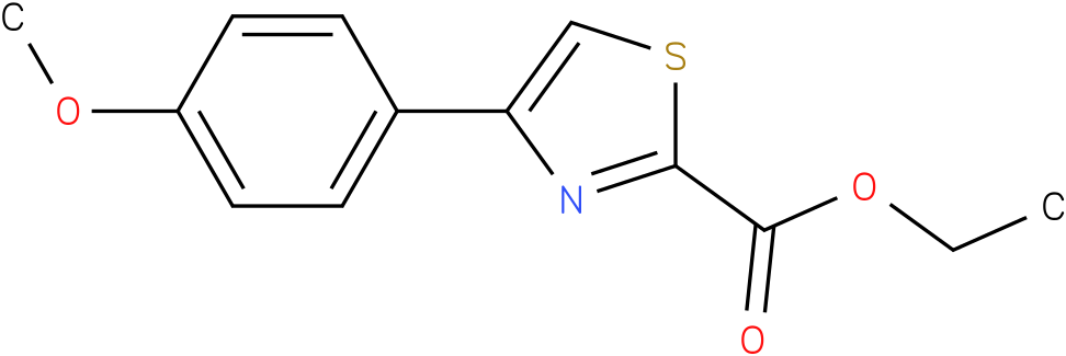4-(4-METHOXY-PHENYL)-THIAZOLE-2-CARBOXYLIC ACID ETHYL ESTER