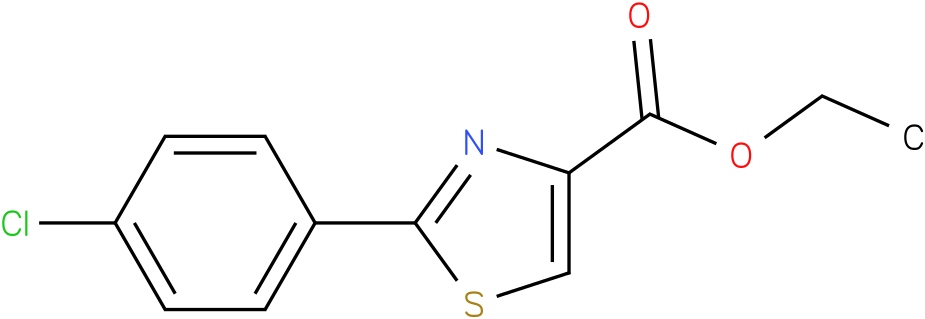 ETHYL 2-(4-CHLOROPHENYL)-1,3-THIAZOLE-4-CARBOXYLATE