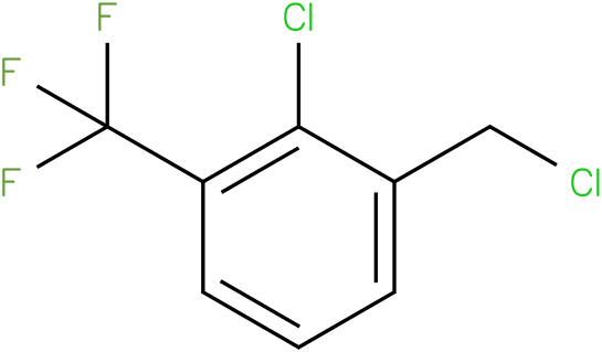 2-chloro-1-(chloromethyl)-3-(trifluoromethyl)benzene