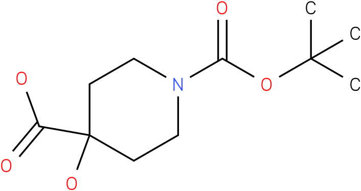 1-BOC-4-HYDROXY-4-PIPERIDINECARBOXYLIC ACID