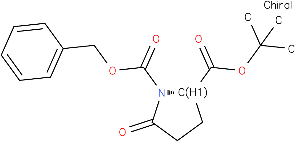 (S)-1-benzyl 2-tert-butyl 5-oxopyrrolidine-1,2-dicarboxylate